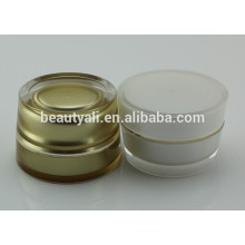 plastic acrylic cosmetic cream jars wholesale 2ml 5ml 10ml 15ml 30ml 50ml 100ml