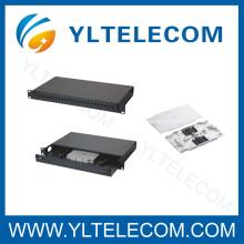 Fiber Optic Patch-Panels mit flacher Front