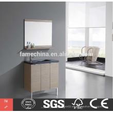 Gabinete de baño de madera barata chino barato
