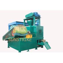 Máquina de la prensa de la briqueta de polvo de fácil operación 450 modelo aluminio