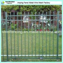 China Fabrik verzinkte Faux Schmiedeeisen Zaun Fo USA