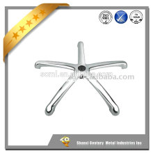 china supplier polished investment casting office chair spare parts
