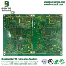 6-layers Multilayer PCB FR4 Tg170 ENIG 2U