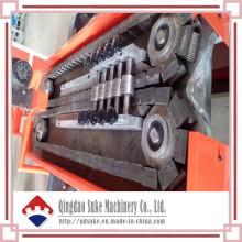 Chaîne de production ondulée de machine de tuyau de mur de double de PE