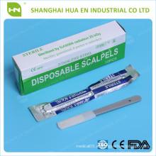 Scalpels desechables estilo afilado de alta calidad CE ISO FDA en China