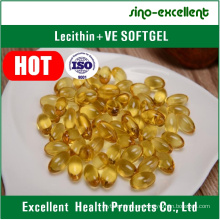 Lecitina + Vitamina E Softgel / cápsula blanda