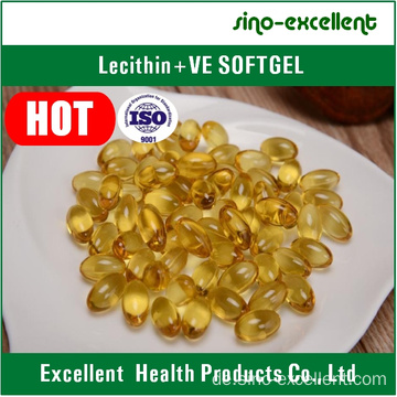 Lezithin + Vitamin E Softgel / Weichkapsel