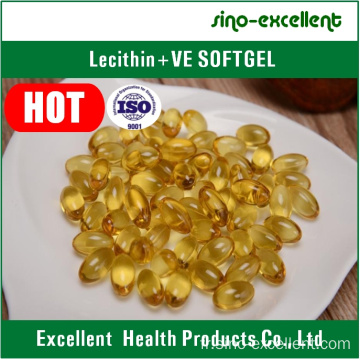 Lécithine + Vitamine E Softgel / capsule molle