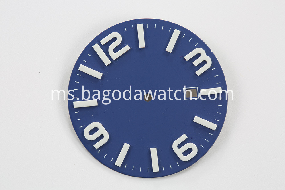 Blue Watch Dial