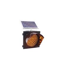 emergency flashing light Led solar traffic signal light