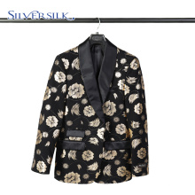 Shawl collar Polyester party wear clothes men suit