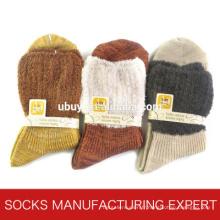 Chaussette causale en coton pour femmes (UBM1067)