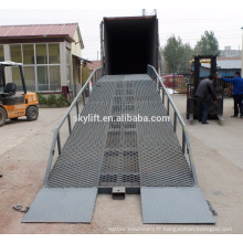 China Made Movable Hydraulic Dock Leveler /Loading Ramp With CE Certificated
