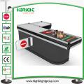 Supermarket Cash Counter with Converyor Belt