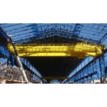 Double Girder Overhead Traveling Crane 60 Tons