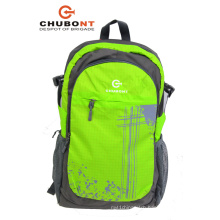 Chubont 2017new Green Color Polyester Backpack