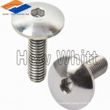 high quality titanium cap head bolt DIN933