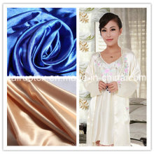 The Popular Microfiber Polyester Satin with Printed for Garment