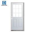 9 облегченная стеклянная вставка, стекло сталь плита дверь