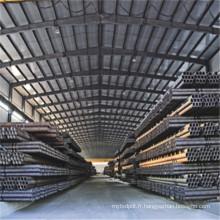 tuyau d'acier sans couture de carbone galvanisé de bonne qualité A106 / 53 en Chine