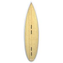 Kiteboard for Kitesurfing Surfboard, with Bamboo Veneer or Wood Veneer Surface