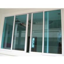 Fenêtre coulissante en aluminium résistante de luxe