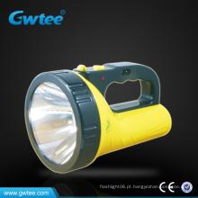 Lanterna led poderosa e barata de plástico