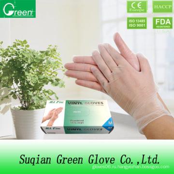 Прозрачные перчатки с прочным растяжением