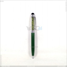 Crystal 2 In1 Stylus Touch Screen Pen for iPhone4 4G 5 iPad Samsung