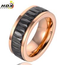 Jóias de aço inoxidável acessórios de moda dedo anelar (hdx1051)