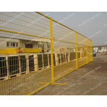 PVC esgrima temporal para el mercado de Canadá (con ISO9001 y SGS)