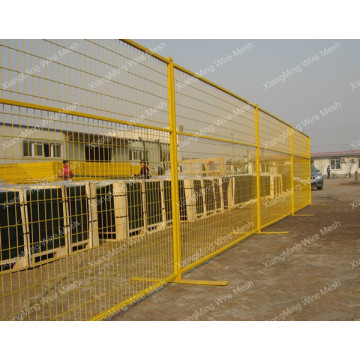 PVC Temporary Fencing for Canada Market (with ISO9001 and SGS)