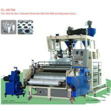 LLDPE Film plastique Double vis Cast Film Machine