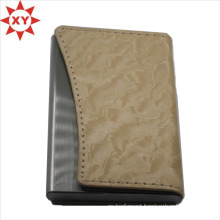 Men and Women′s Genuine Leather Place Card Holder /Card Box