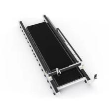 China new metal sheet fiber laser cutting machine for steel cutting