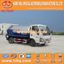 Japan technology 4x2 4000L small vacuum sewer truck