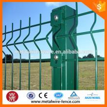 V mesh fence
