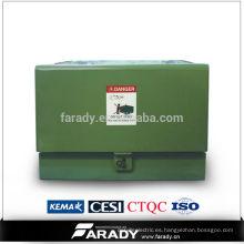 Pad montado precio del transformador Monofásico Pad-Mounted 100kva transformador inmerso de aceite