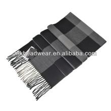custom men's woven scarf
