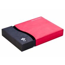 Caja de cajón de papel de embalaje de regalo de alta calidad con estampación de papel de plata