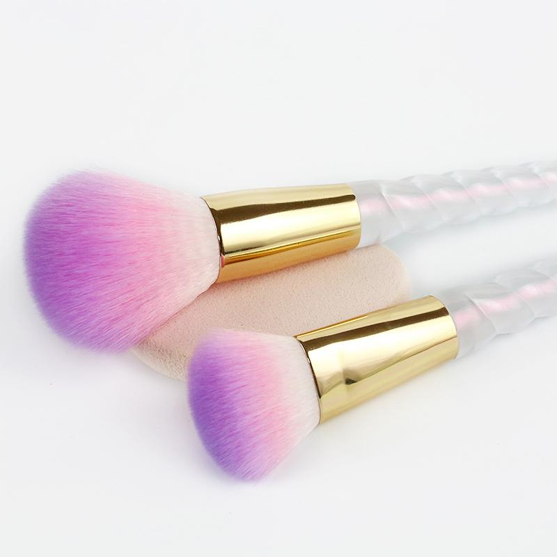 8 Pcs Makeup Brush Set