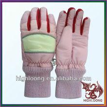 Superventas y populares guantes de esquí rosa