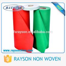 Pla fusão interlining tecido não tecido em stocklot
