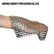 Premium Stainless Steel Ss304 Stainless Steel Chainmail Scrubber Cookware