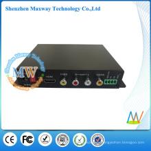 HDMI y RCA emiten simultáneamente la caja del reproductor multimedia 1080p