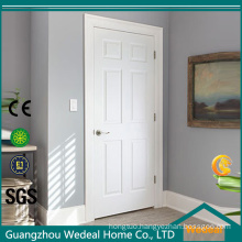 Solid Wooden Interior MDF PVC Laminated White Primed Composite Door