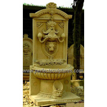 Water Wall Fountain for Garden Stone Marble Sculpture (SY-W158)