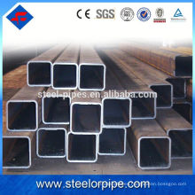 Tubo de estructura de tubo de acero redondo, rectangular, cuadrado de pared delgada