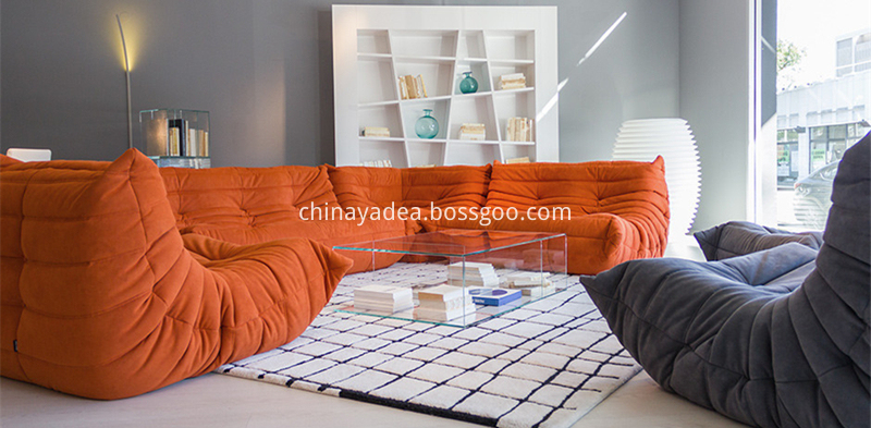 Togo-Sofa-Collection-Cozy-Fabric-Sofa-Set