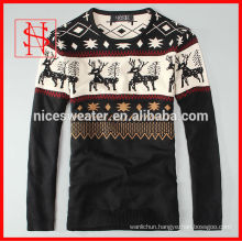 mens knitted ugly christmas sweater